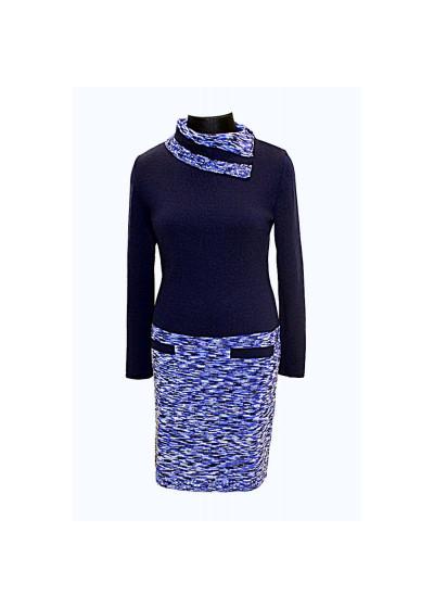 Платья. Вязаный трикотаж оптом от производителя. Женская одежда оптом в магазине Анколи.