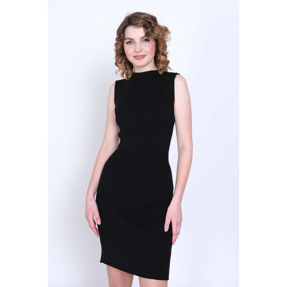 Платье М 16-023 . Вязаный трикотаж в розницу от производителя. Женская одежда в магазине Анколи