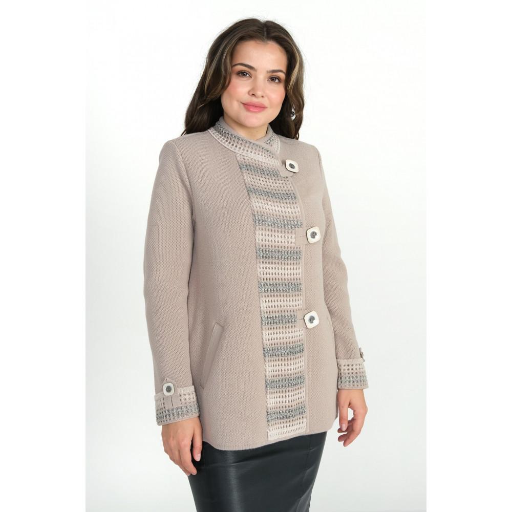 Жакет Д 2332 . Вязаный трикотаж оптом от производителя. Женская одежда оптом в магазине Анколи