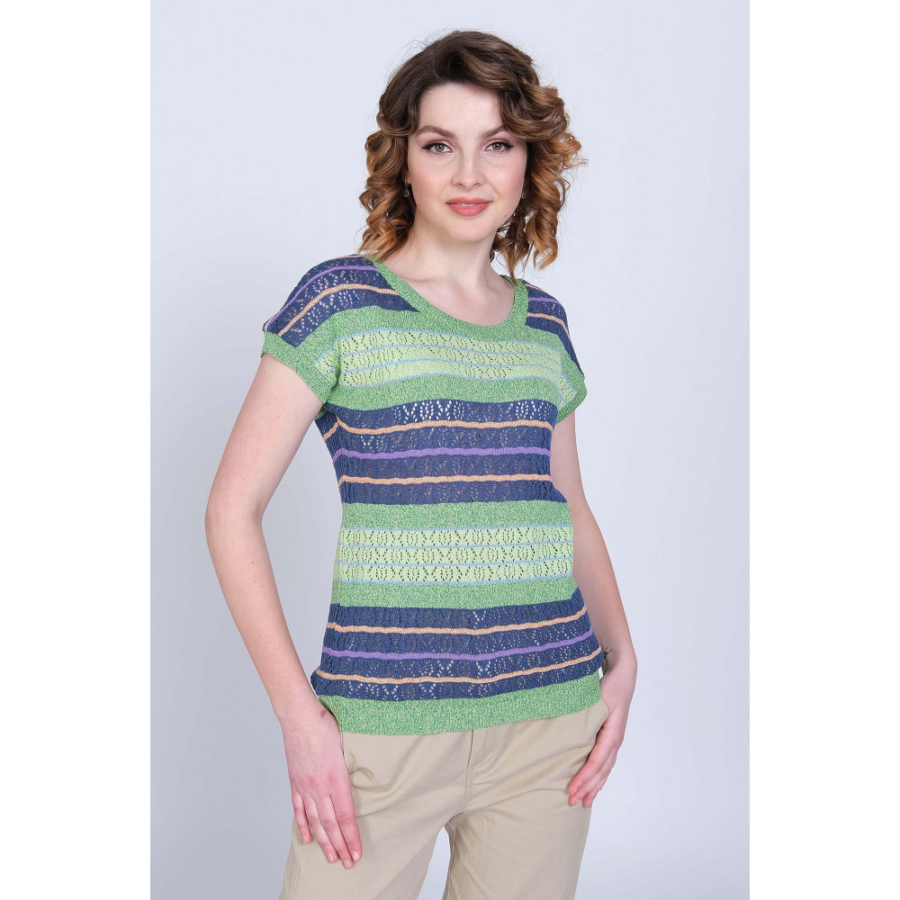 Джемпер  Л 0695 . Вязаный трикотаж в розницу. Женская одежда от производителя в магазине Анколи