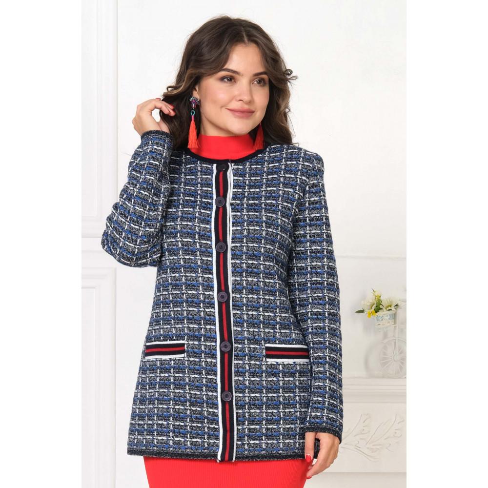 Жакет Д 2191. Вязаный трикотаж в розницу. Женская одежда от производителя в магазине Анколи