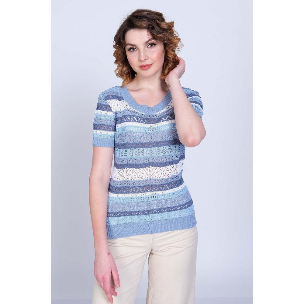 Джемпер  Л 0582 . Вязаный трикотаж в розницу. Женская одежда от производителя в магазине Анколи