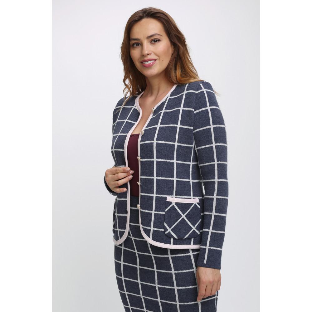 Жакет М 2384 . Вязаный трикотаж в розницу. Женская одежда от производителя в магазине Анколи