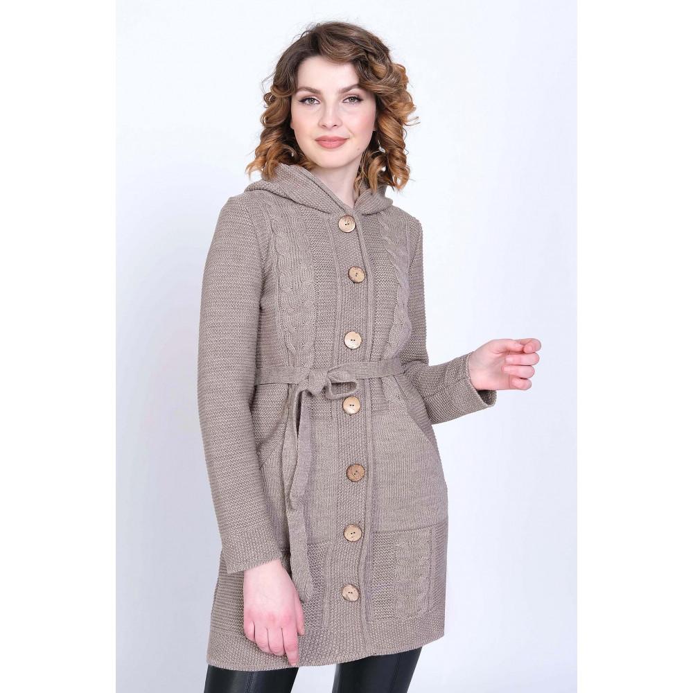 Кардиган 35104 к . Вязаный трикотаж в розницу. Женская одежда от производителя в магазине Анколи