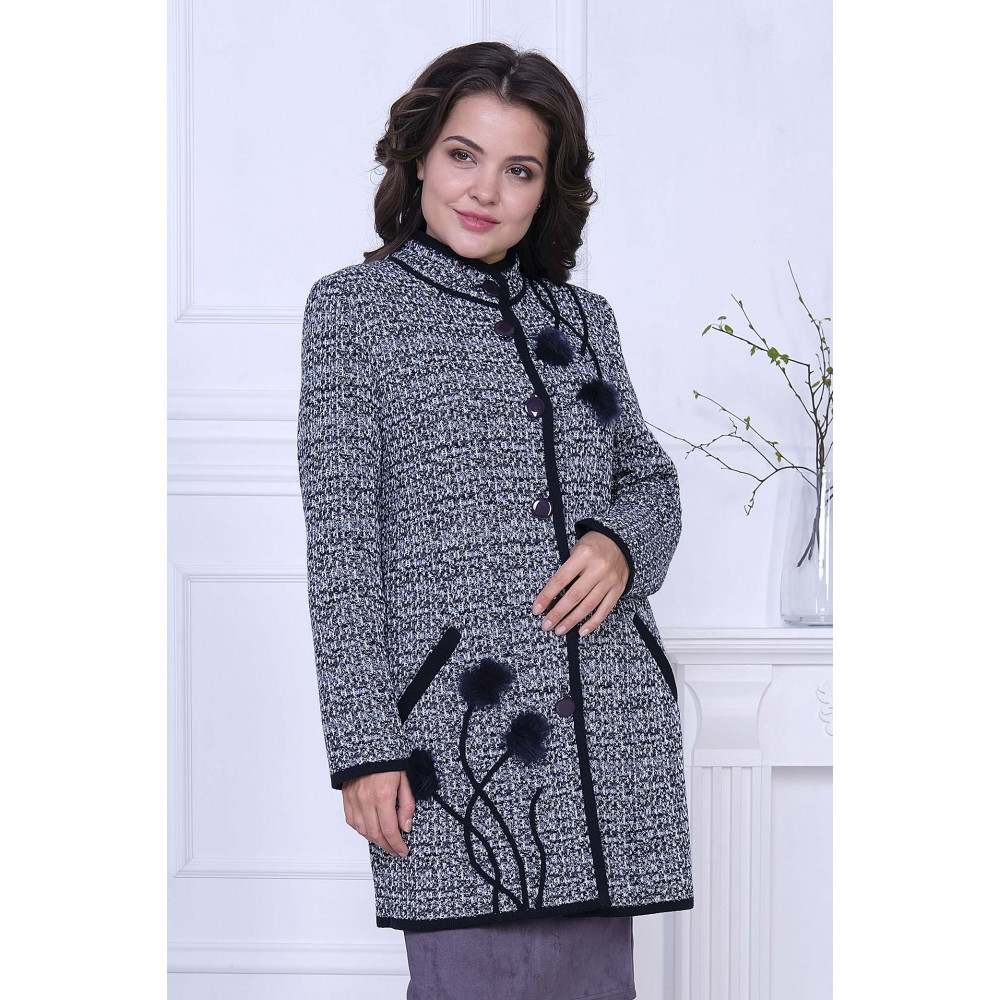 Жакет Д 2025 . Вязаный трикотаж в розницу. Женская одежда от производителя в магазине Анколи