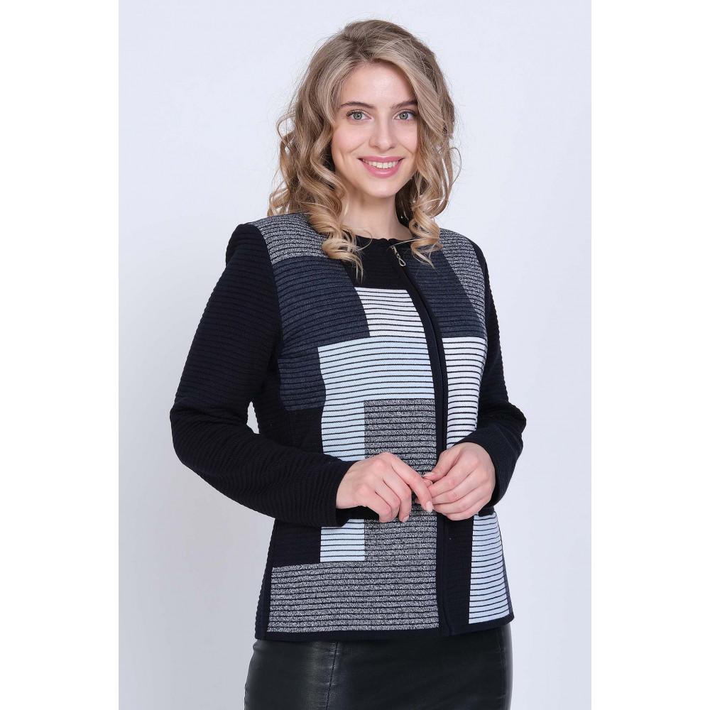 Жакет Д 2243 . Вязаный трикотаж в розницу. Женская одежда от производителя в магазине Анколи