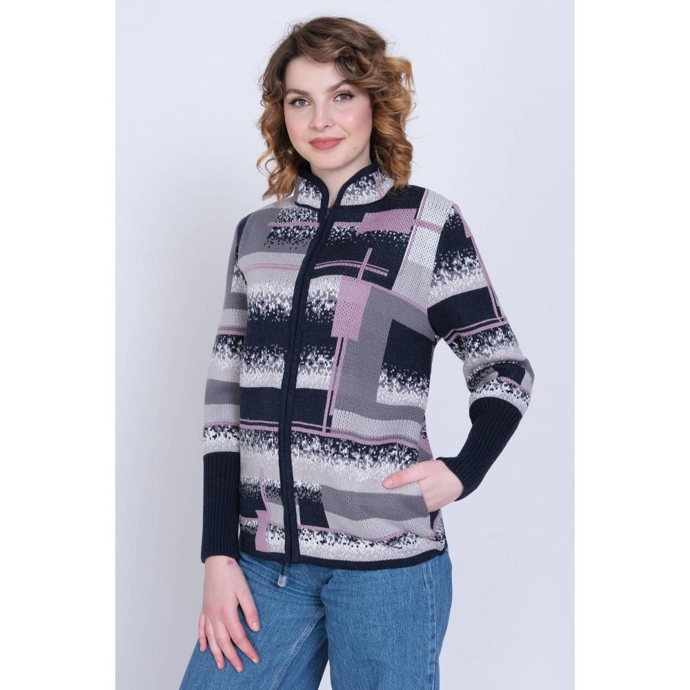 Жакет 1-5959 . Вязаный трикотаж в розницу. Женская одежда от производителя в магазине Анколи