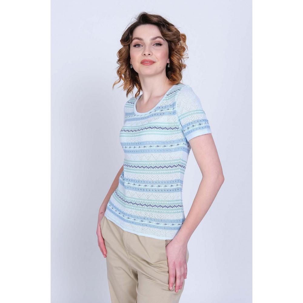 Джемпер Л 0301 . Вязаный трикотаж в розницу. Женская одежда от производителя в магазине Анколи