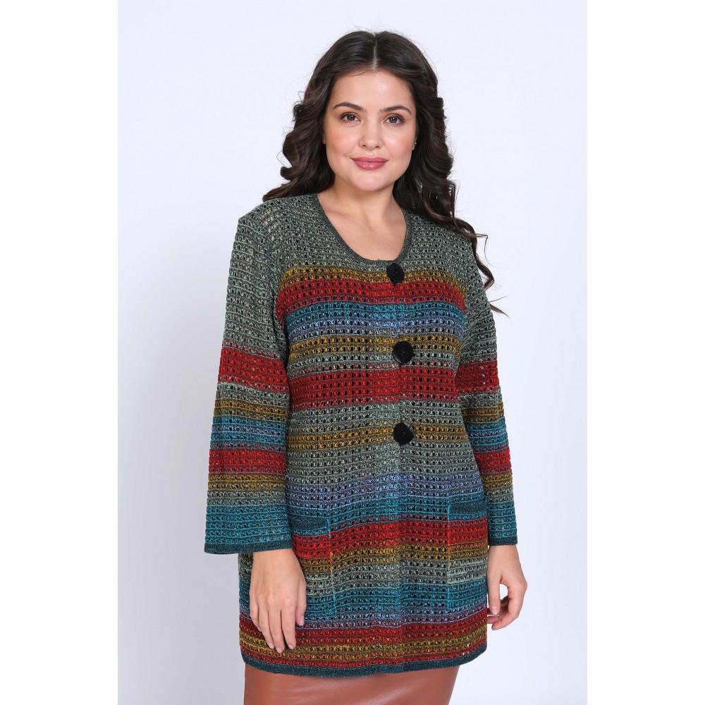 Жакет Н 1462* . Вязаный трикотаж в розницу. Женская одежда от производителя в магазине Анколи