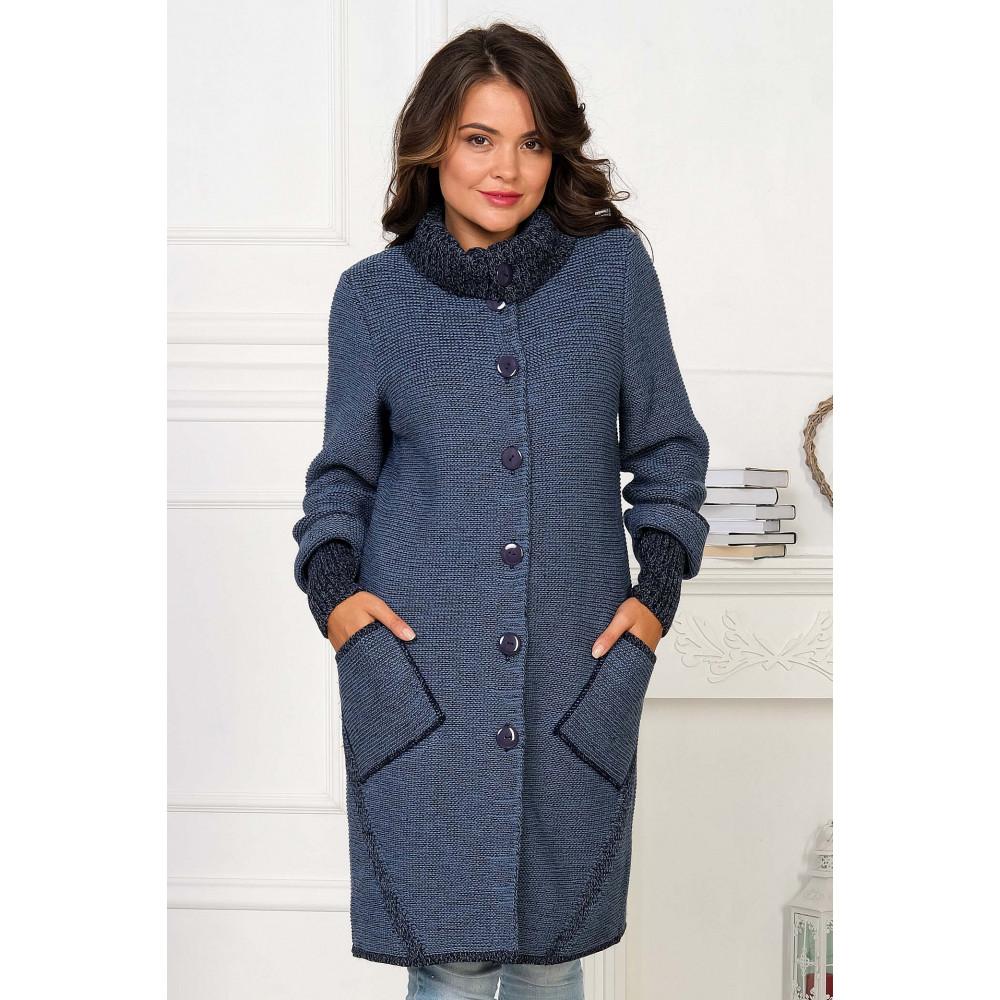 Кардиган 35917 . Вязаный трикотаж в розницу. Женская одежда от производителя в магазине Анколи