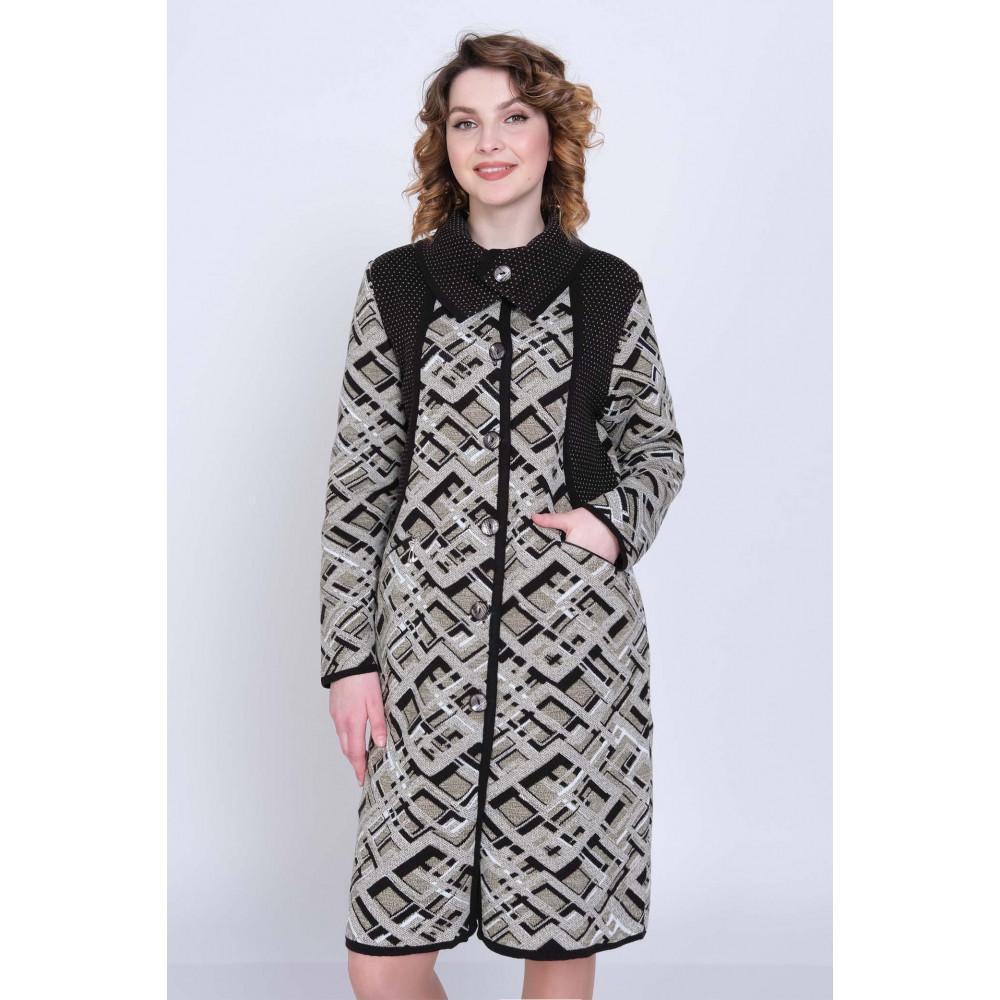Кардиган К 1281 . Вязаный трикотаж оптом от производителя. Женская одежда оптом в магазине Анколи