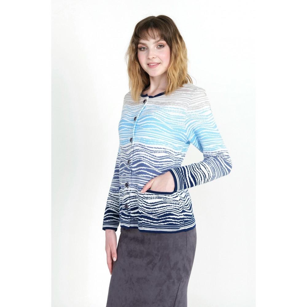 Жакет М 2034 . Вязаный трикотаж в розницу. Женская одежда от производителя в магазине Анколи