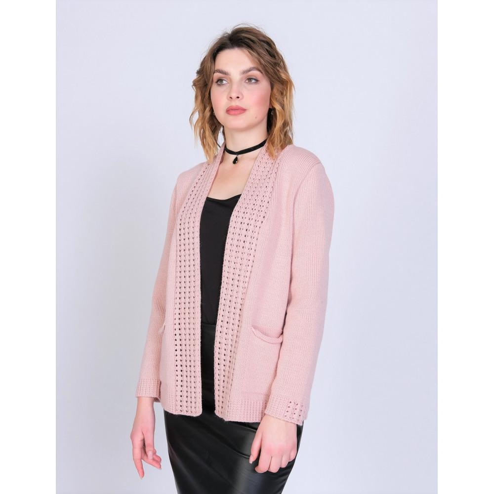 Жакет 351180 . Вязаный трикотаж в розницу. Женская одежда от производителя в магазине Анколи