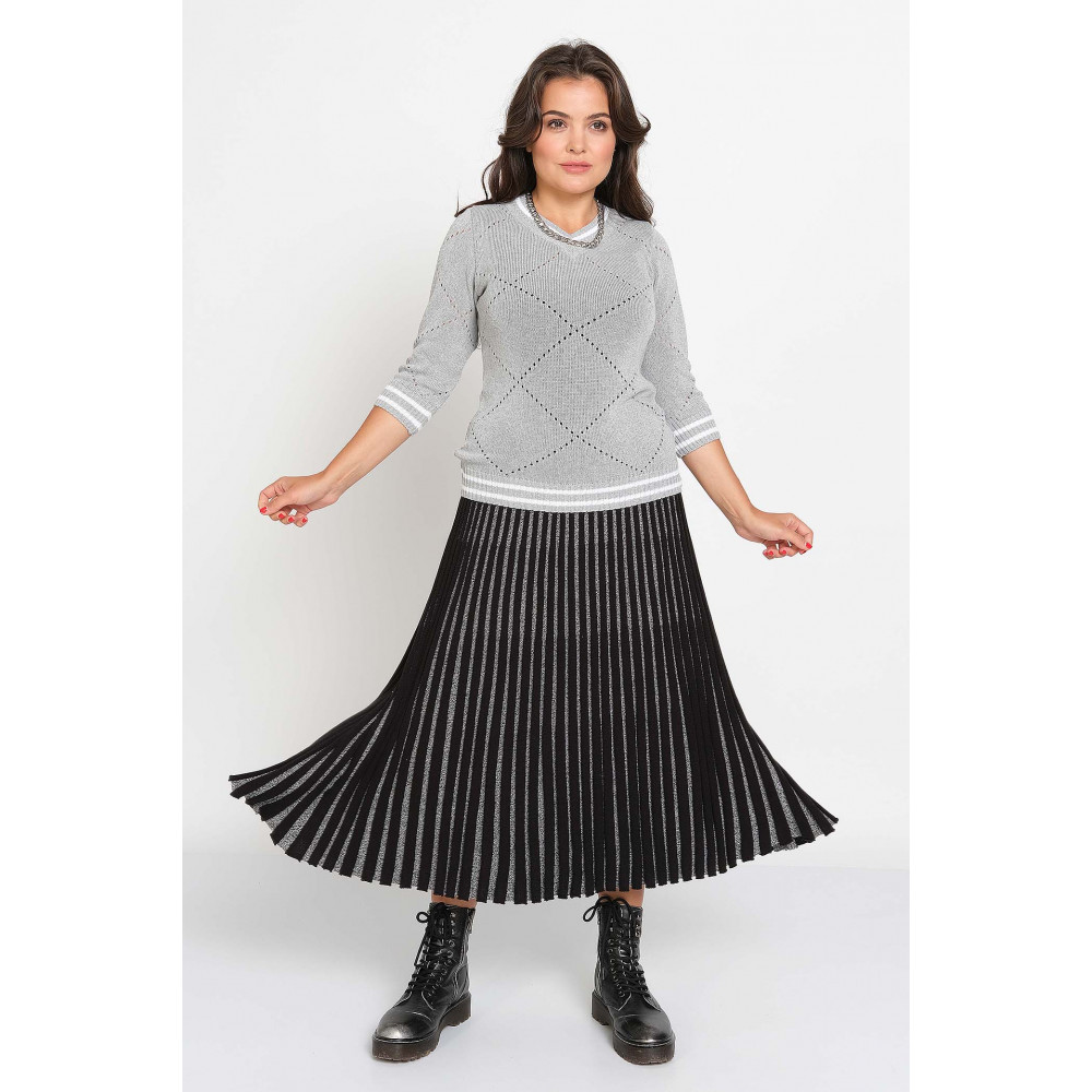 Юбка М 2479 . Вязаный трикотаж в розницу. Женская одежда от производителя в магазине Анколи