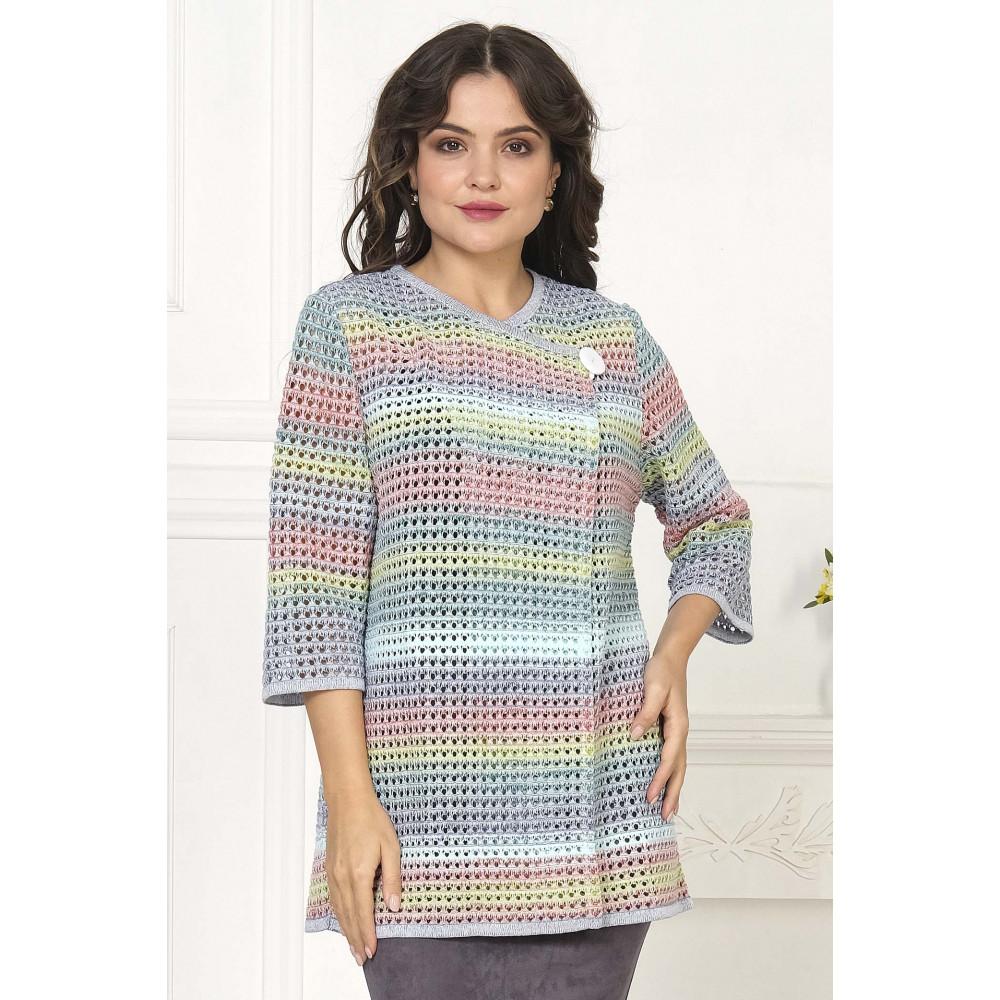 Жакет Н 733 . Вязаный трикотаж в розницу. Женская одежда от производителя в магазине Анколи
