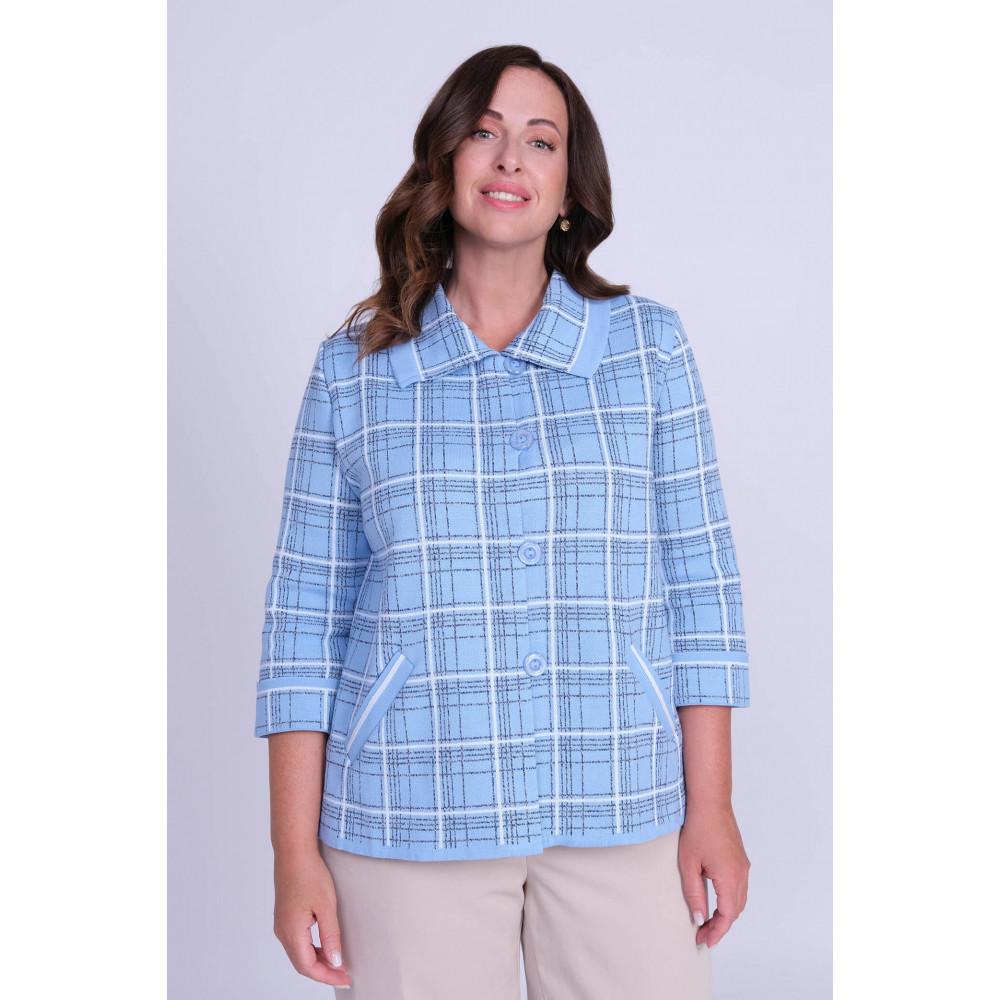 Жакет Д 2256 . Вязаный трикотаж в розницу. Женская одежда от производителя в магазине Анколи