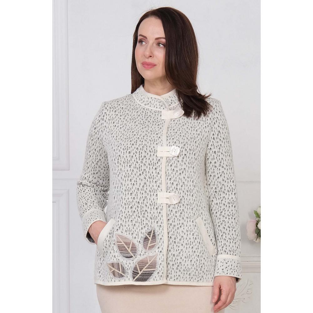 Жакет Д 1658д . Вязаный трикотаж в розницу. Женская одежда от производителя в магазине Анколи